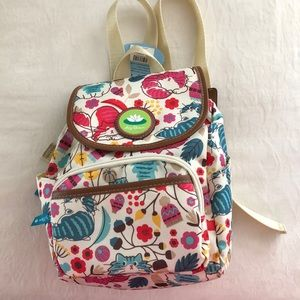 Lily Bloom Marley Backpack In Lovecats NWT